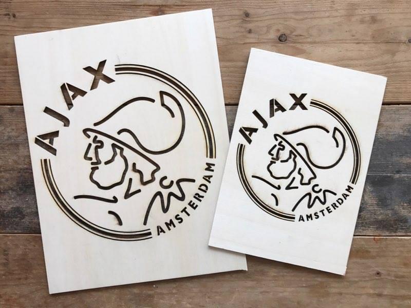 Lasercut Ajax