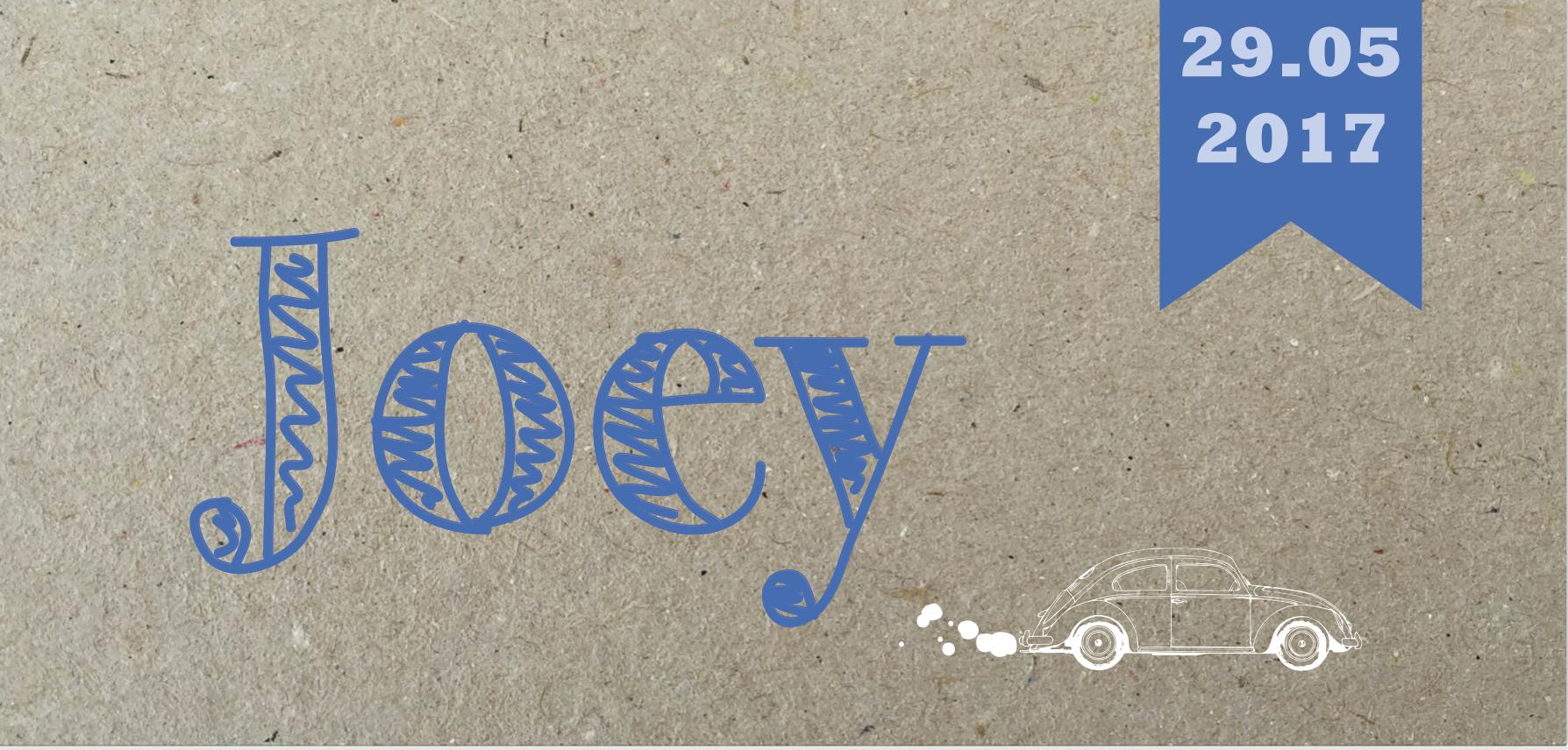 Papier print Joey